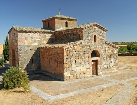nave: San Pedro de la Nave - Visigothic church, Campillo, Spain