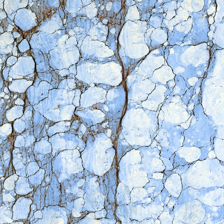 crackle: sample of antique  cracked marble surface, Italy  Editorial