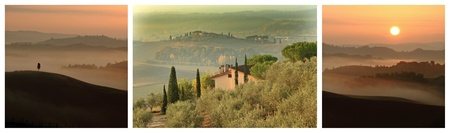 scenic images from Tuscany, Italy, Europe photo