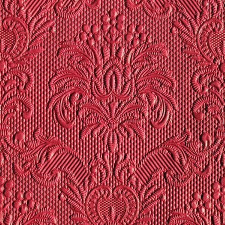 tissue texture: victorian red backdrop