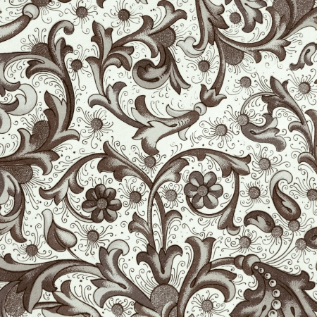 vintage ornamental wrapping photo