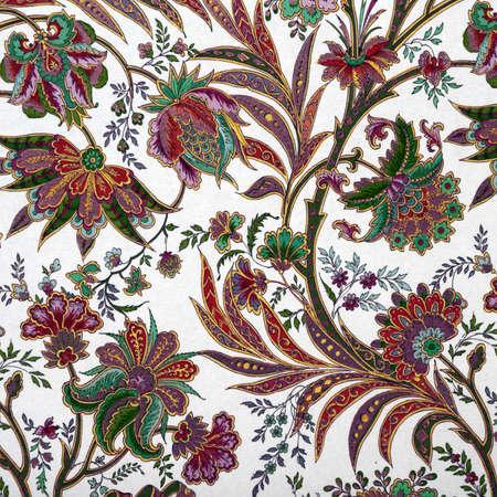 elegant floral pattern as background photo