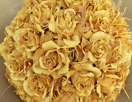 wedding vintage rose bouquet photo