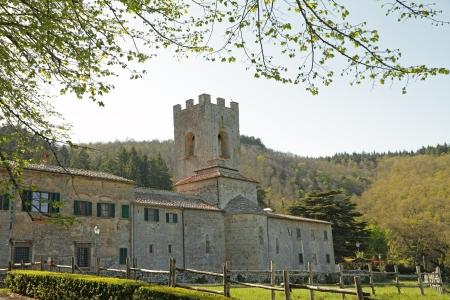 abbazia: Coltibuono abbey  in Tuscany, Italy, Europe