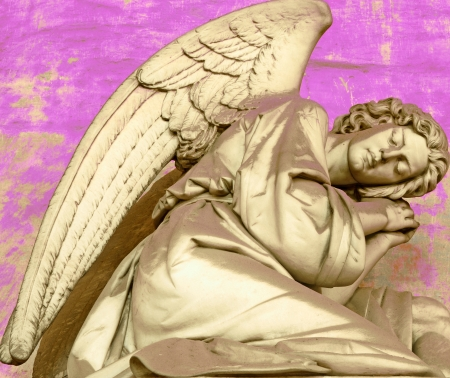 angel cemetery: vision of angelic figure, Staglieno, Italy, Europe