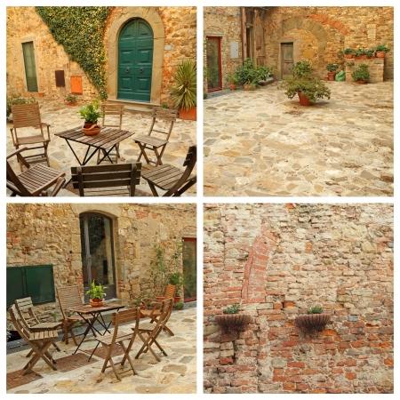 tuscan yard images, Italy, Europe Stock Photo - 15182085