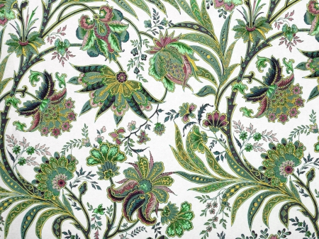 green floral pattern background photo