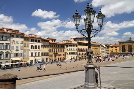 Piazza Pitti in Florence, Tuscany, Italy, Europe