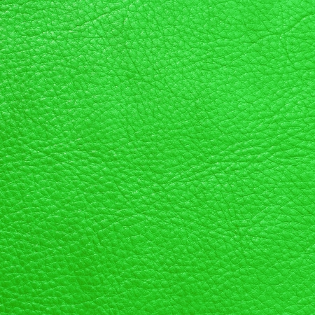 bright vivid green vintage leather background  photo