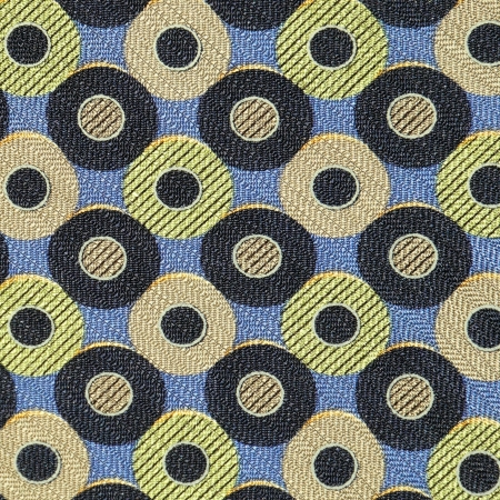 seamless fabric with circles pattern photo