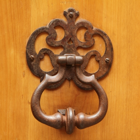 ornamental vintage knocker, Italy Stock Photo - 17300249