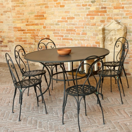 vintage garden furniture  Stock Photo - 17495080