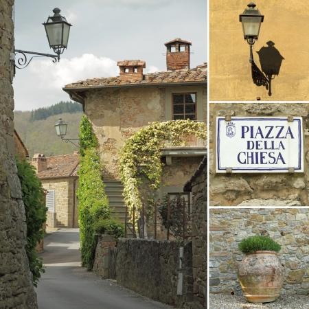 nook: italian street collage