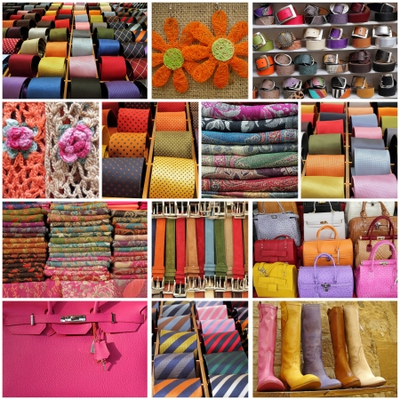 men and women accessories collage photo