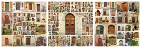 abstract house, collection of images from Italy   Tuscany, Veneto, Puglia, Umbria, Lazio,Trentino, Marche  photo