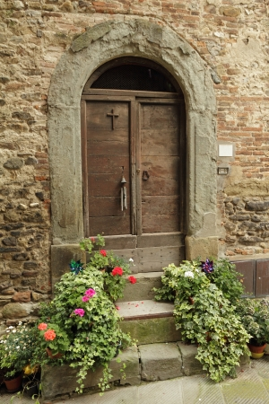 antique doorway to the tuscan house Anghiari Italy photo & Collage With Tuscan Door Italy Stock Photo Picture And Royalty ...