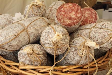 piedmont: Charcuterie called sbriciolona, version of  salumi called finocchiona, tuscan specialty,