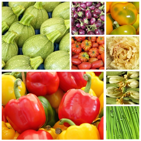 agriculture wallpaper: vegetable mix background