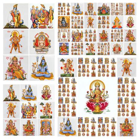 hindu gods pattern photo