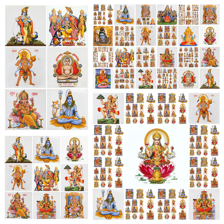 hanuman: hindu gods pattern