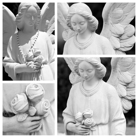 angel cemetery: cemetery angel composition, Italy