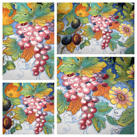 alcohol series: harvest impression collage Stock Photo