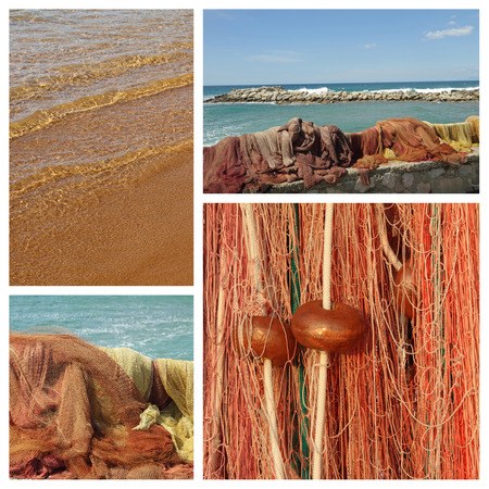 floaters: fishing net composition