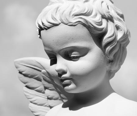 baby angel: angelo Archivio Fotografico