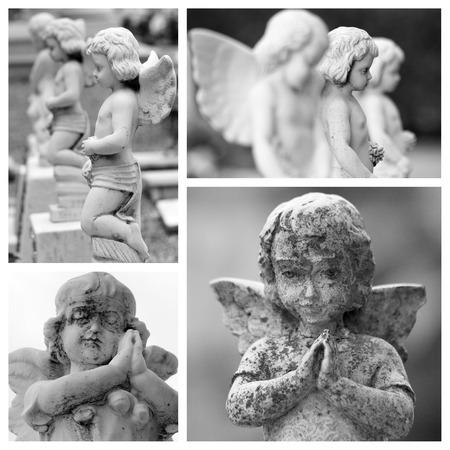 cherubs: pray Stock Photo