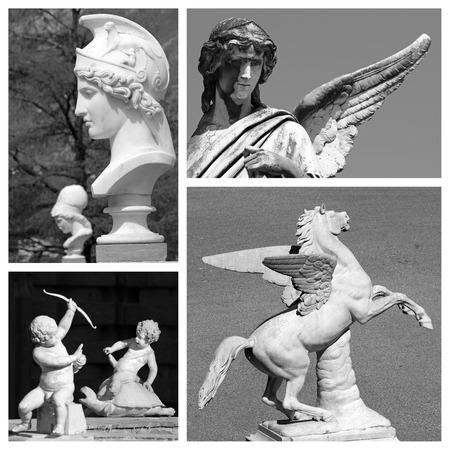 myth: myth artistic collage