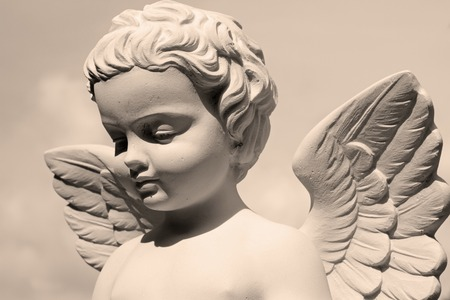 angelic statue Foto de archivo