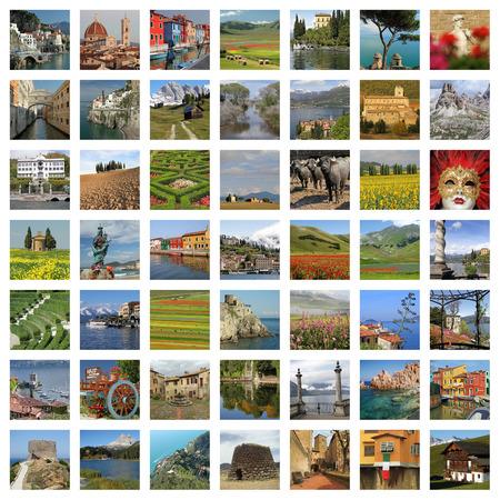 wonderful Italy composition photo