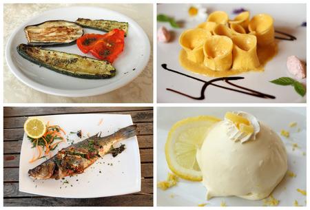 second meal: italian dinner set
