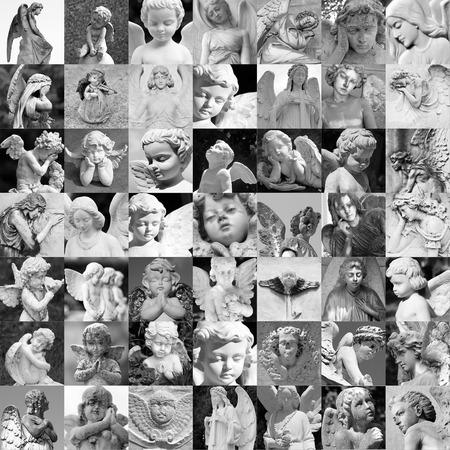 cherubs: angel art Stock Photo