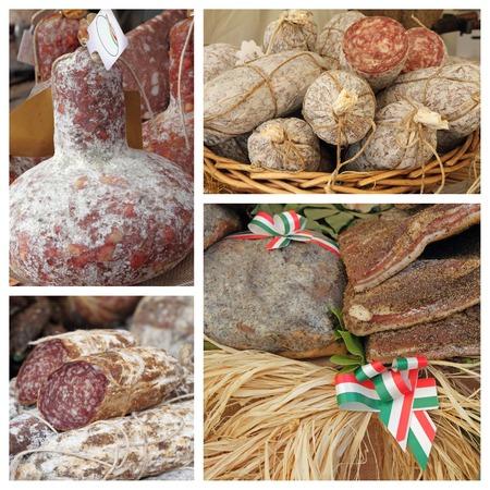 italian butcher shop composition