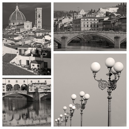 Beautiful old Florence composition photo