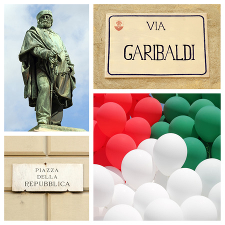 insurrection: Giuseppe Garibaldi and birth of the Italian republic concept