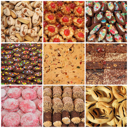 sicilian: collection of maltese sweets, Malta, Europe