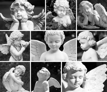 angel figurine: angelic guardians composition