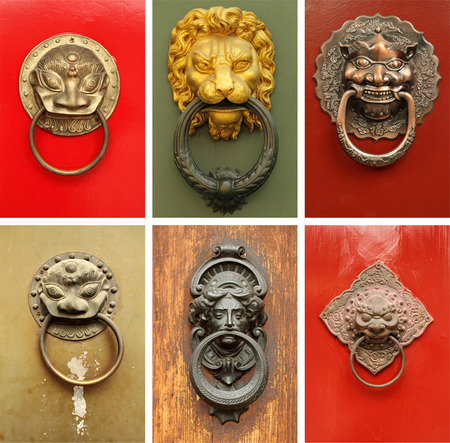 old items: old door knockers collection