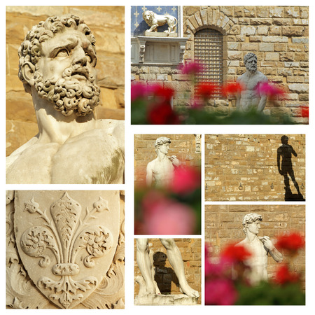 patrimony: cultural world heritage of Florence composition