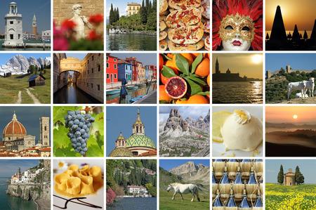 europe travel: beautiful italian images card