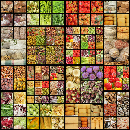 food industry: Food collage