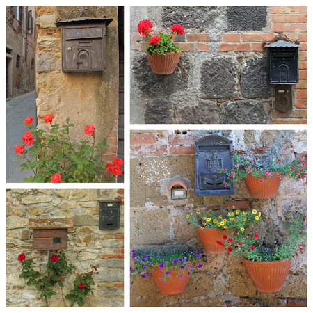 letterbox: beautiful old fashion letterbox images from Italy