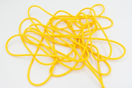 electrical networks: Los cables de colores el�ctricos utilizados en las redes el�ctricas e inform�ticas