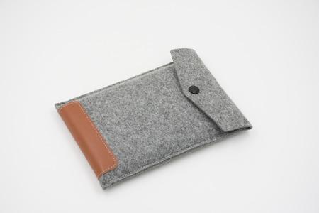 external: Velvet bag, pouch for external hard disk