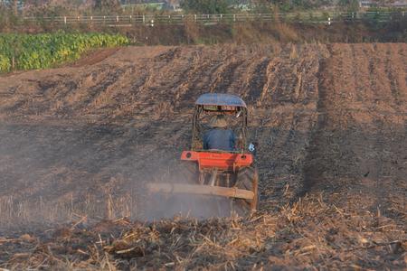 dirtroad: farmer on truck in a farm