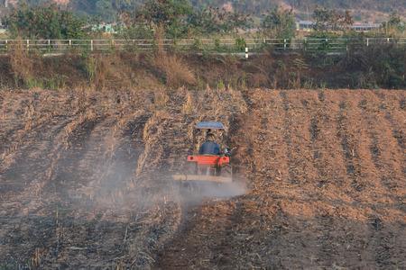 isaan: farmer on truck in a farm