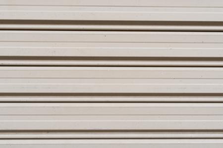 Iron shutter door or garage and rolling door texture.  Banco de Imagens
