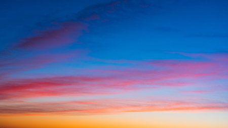 Vivid sky on twilight time for background